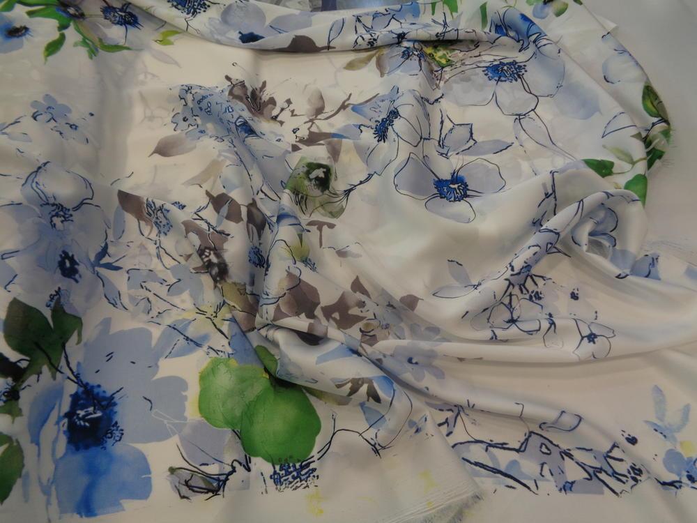 Σατέν 'Esmeralda' blue