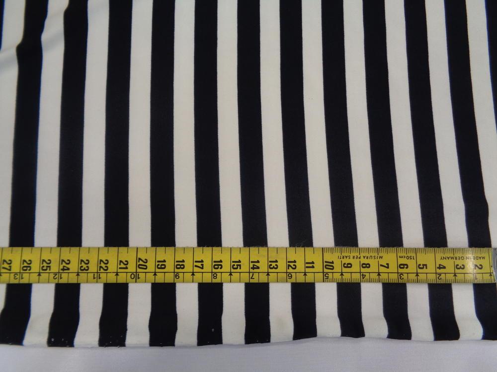 Βαμβακολίκρα 'Stripes' black