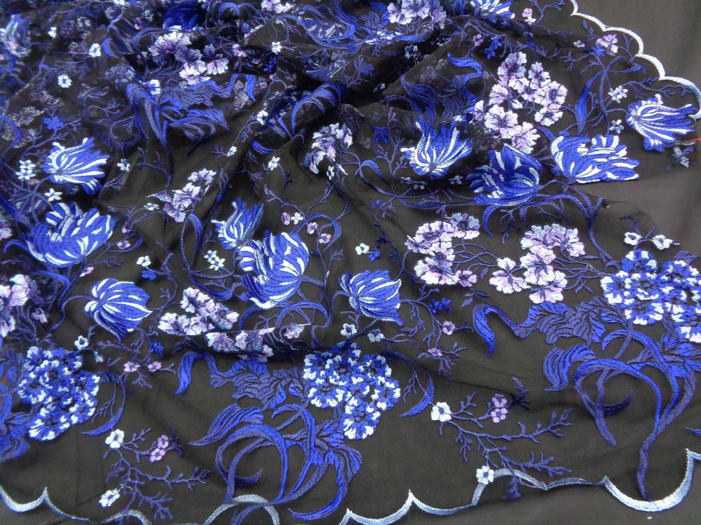 Δαντέλα κεντητή 'Blue Princess'