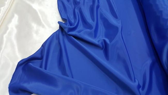 Κρέπ σατέν 'Royal blue'