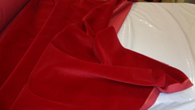 Βαμβακερό βελούδο 'Red fire'