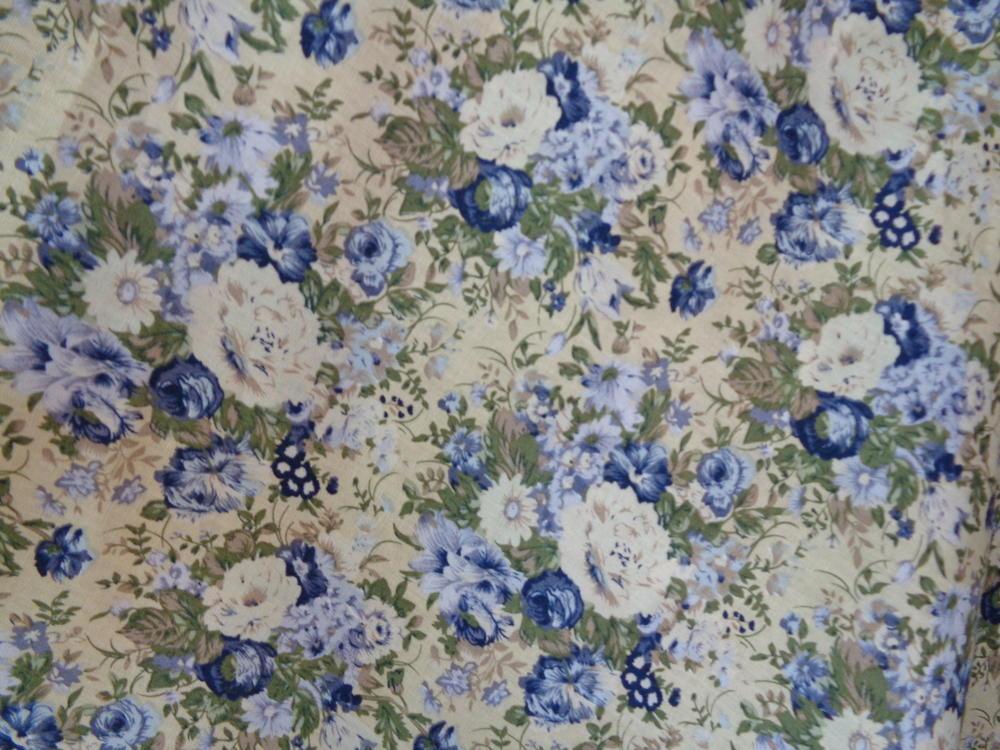 Ποπλίνα 'Roses Spring' blue