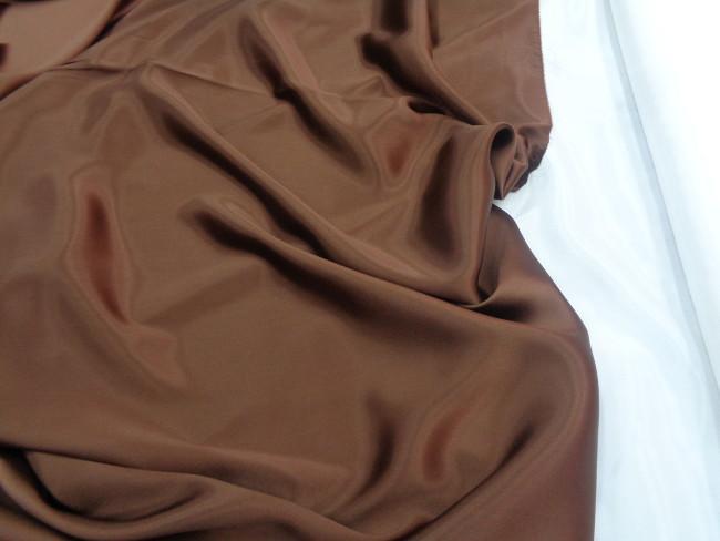 Ολομέταξο σατέν 'Chocolate' light