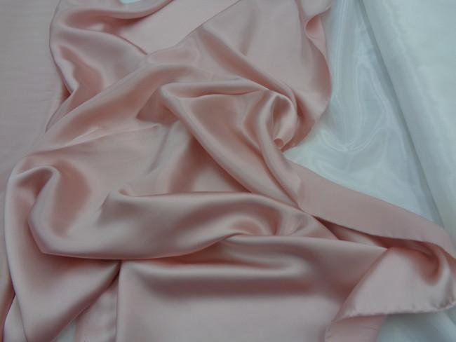 Ολομέταξο σατέν 'Romance' nude-pink