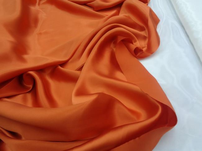 Ολομέταξο σατέν 'Orange fragance'