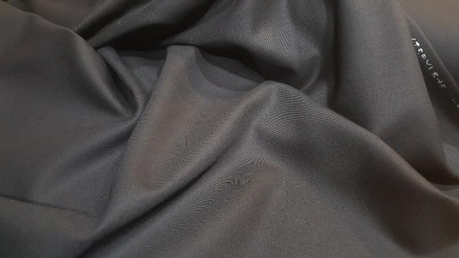 Μάλλινη κασμιροφανέλλα 'Swan black'