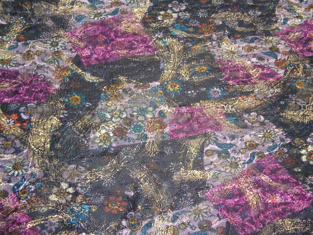 Δαντέλα ελαστική 'Melitini' flowers