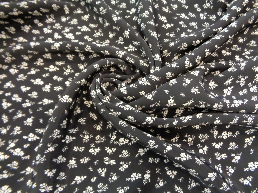Κρέπ μαροκέν 'Titika' roses black