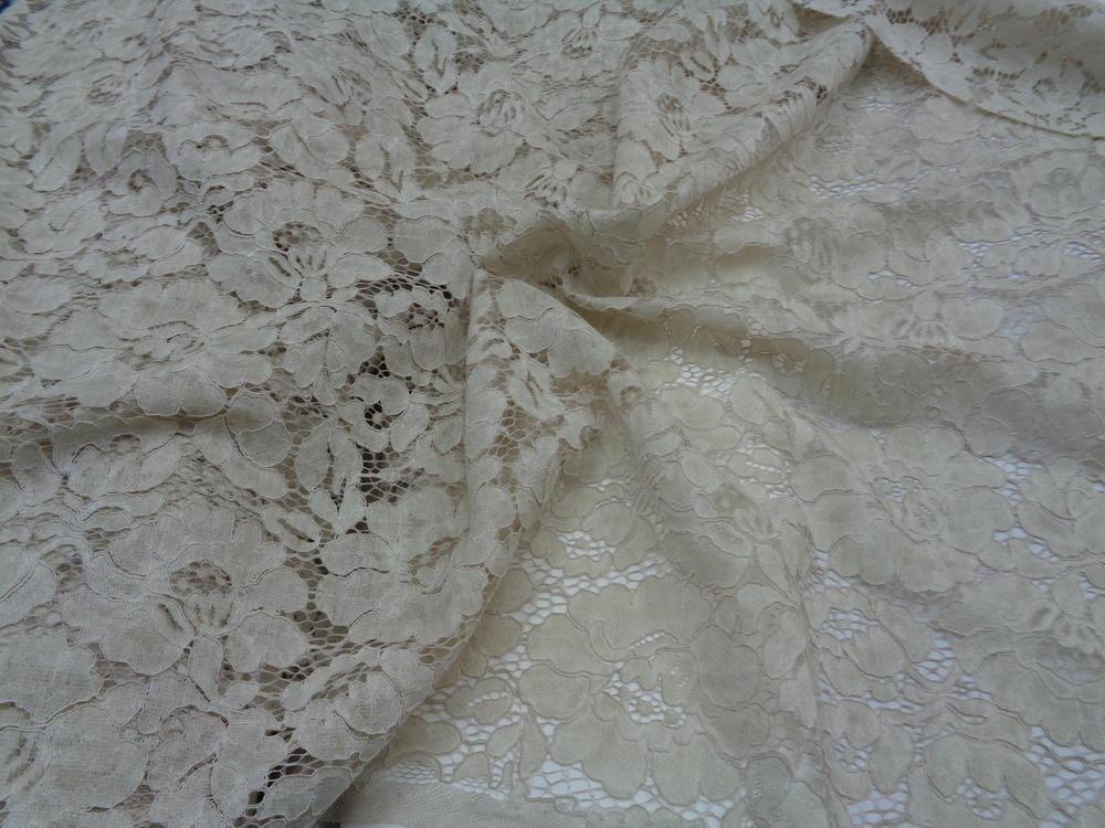 Δαντέλα πετροπλυμμένη 'Alesia' beige