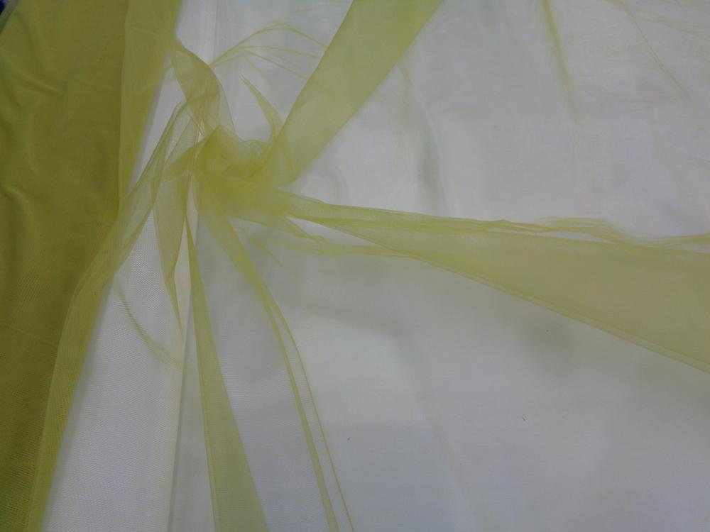 Τούλι σε πράσινο-κίτρινο