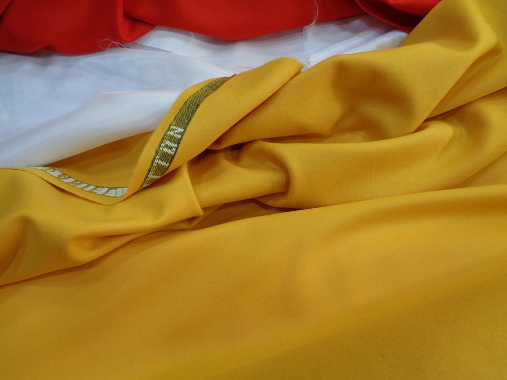 Λεπτό κασμίρ 'Dragon' yellow