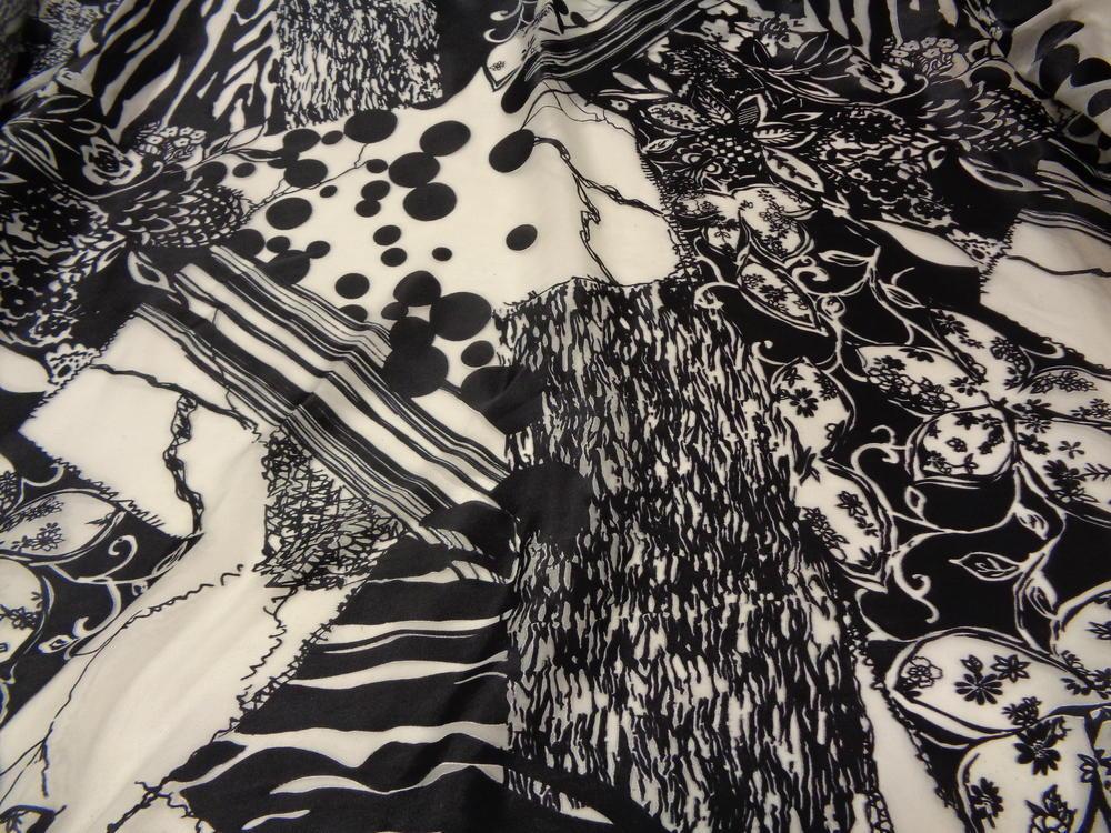 Μουσελίνα 'Black oasis'