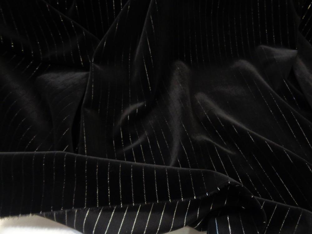 Βελούδο βαμβακερό 'Stripes'