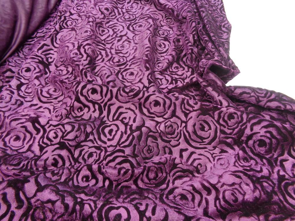 Μπροκάρ βελούδο 'Diamond Queen' purple dark