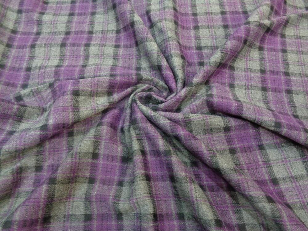 Λεπτό μάλλινο 'Scotch purple'
