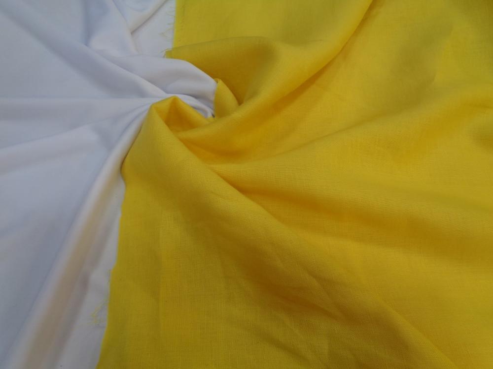 Λινάρι σε κίτρινο