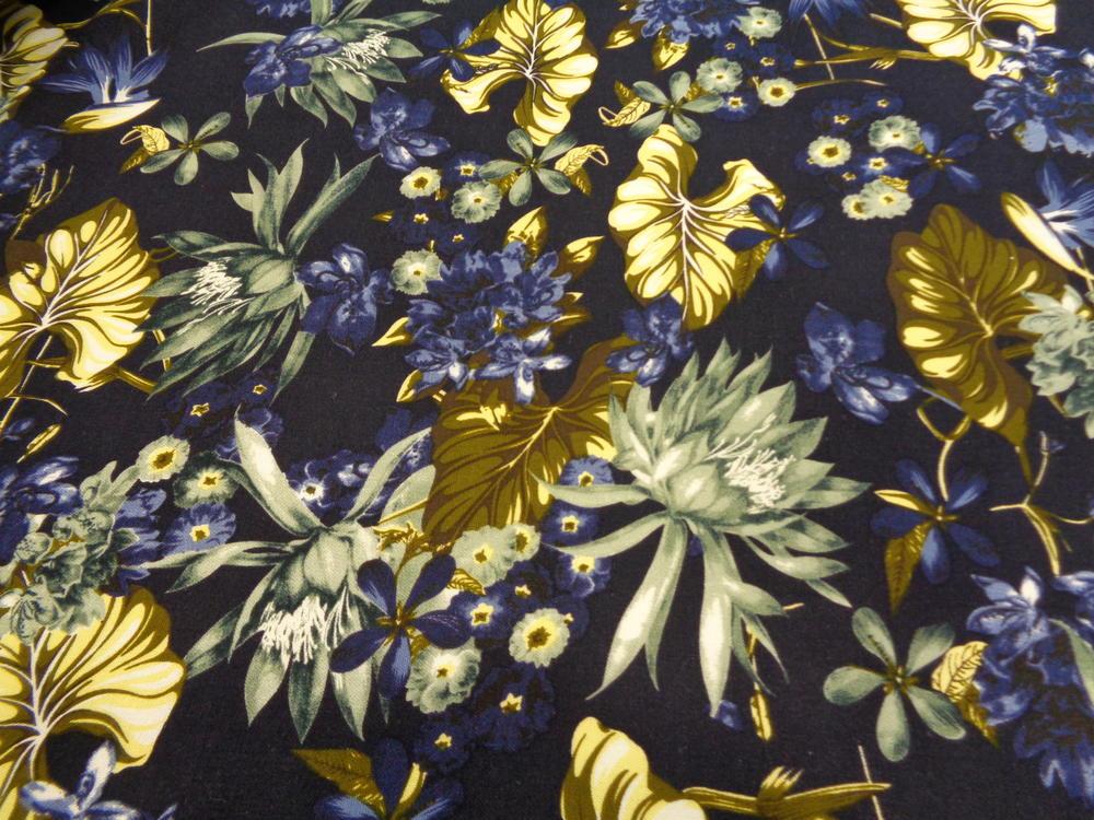 Λινάρι 'Moda Italia' blue