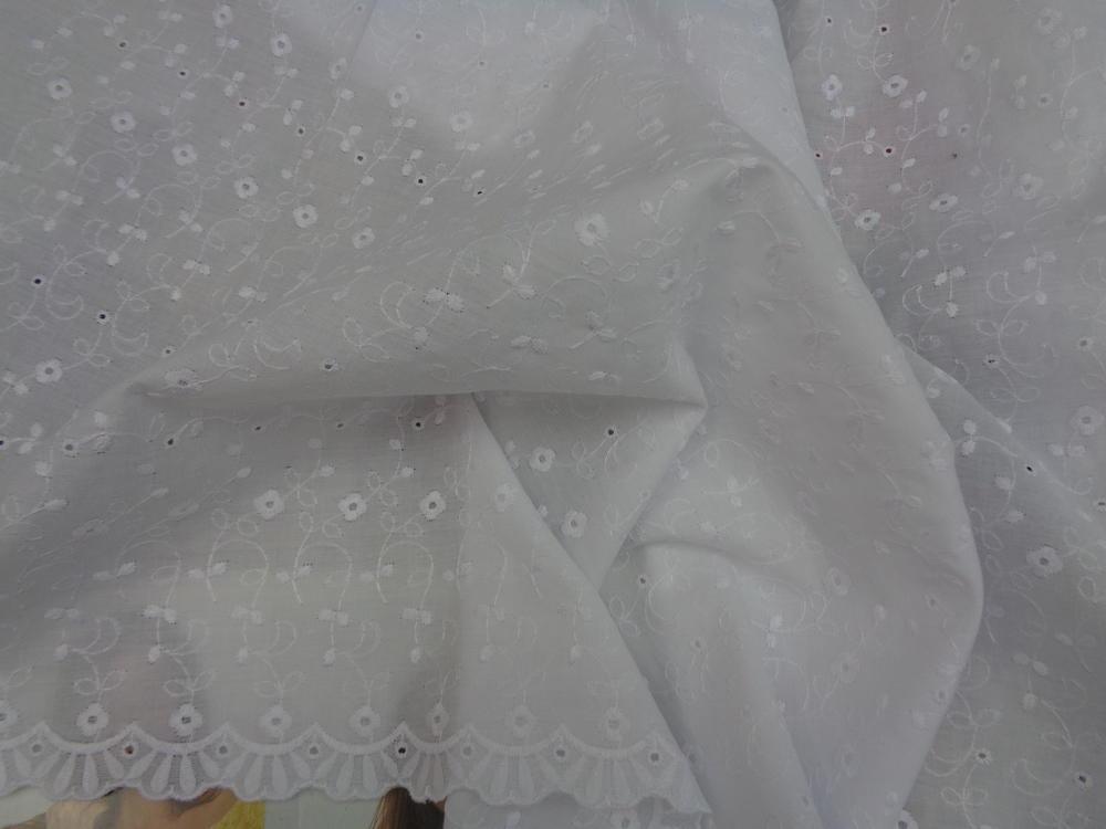 Μπροντερί 'Elegance' white