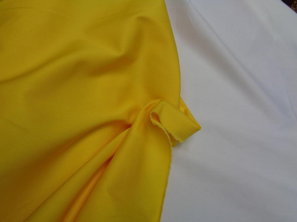 Καπαρτίνα σταθερή σε κίτρινο σκούρο
