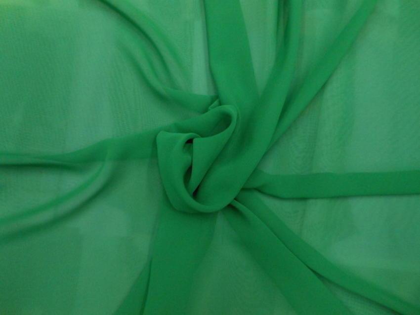 Μουσελίνα σε πράσινο έντονο