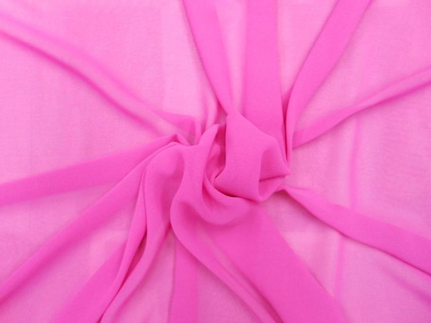 Μουσελίνα σε ρόζ- φούξια