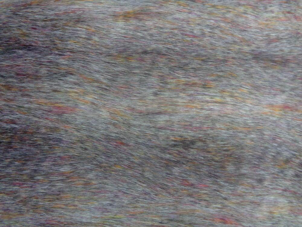 Γούνα πολυτελείας 'Safari' rainbow