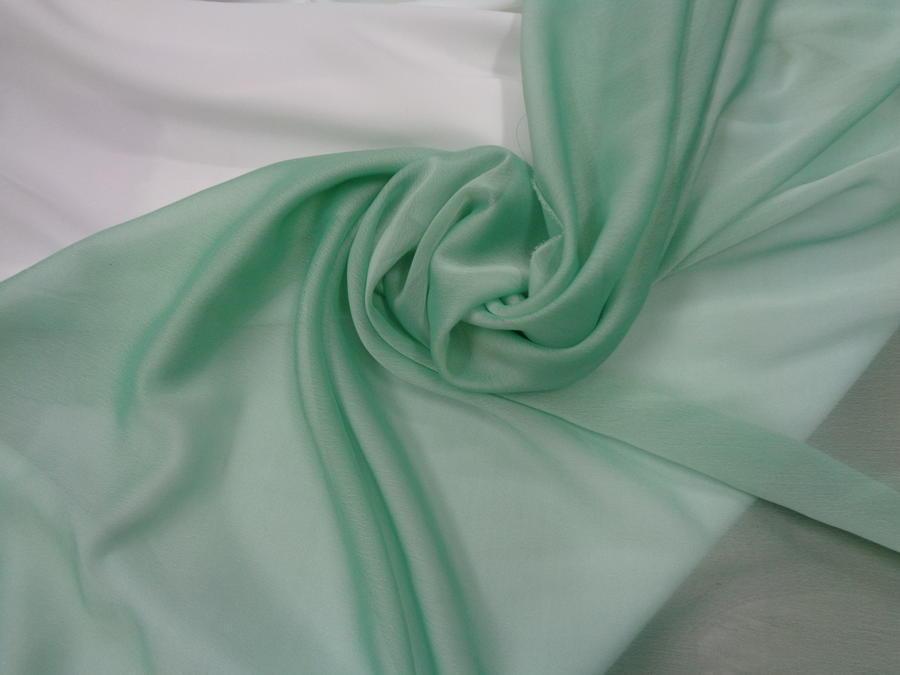 Οργάντζα-μουσελίνα σανζάν 'Aqua'