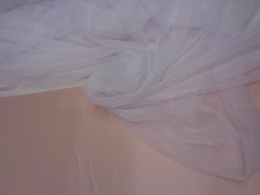 Τούλι σιλικόνης πολυτελείας 'Bride' λευκό